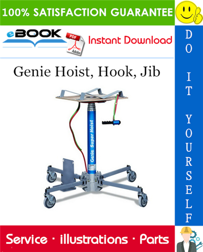 Thumbnail ☆☆ Best ☆☆ Genie Hoist, Hook, Jib Parts Manual