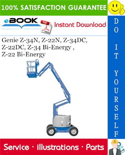 Thumbnail ☆☆ Best ☆☆ Genie Z-34N, Z-22N, Z-34DC, Z-22DC, Z-34 Bi-Energy ,Z-22 Bi-Energy Parts Manual