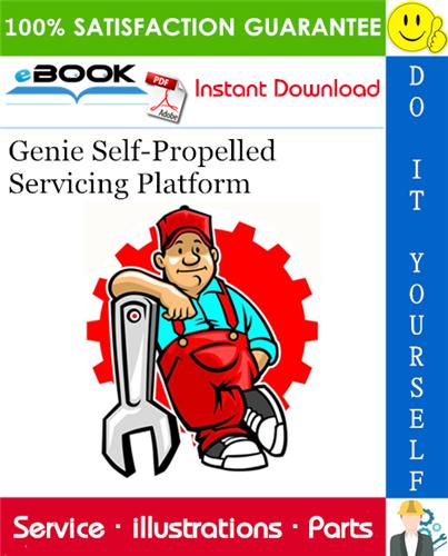 Thumbnail ☆☆ Best ☆☆ Genie Self-Propelled Servicing Platform Parts Manual Supplement (for serial number UAFSP06-101)