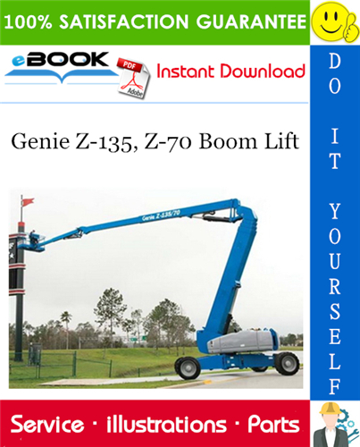 Thumbnail ☆☆ Best ☆☆ Genie Z-135, Z-70 Boom Lift Parts Manual (Serial Number Range: From SN 100)
