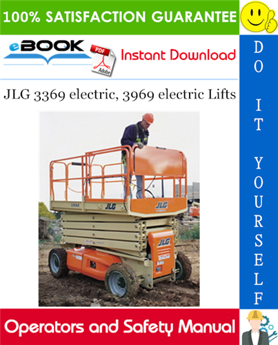 Thumbnail ☆☆ Best ☆☆ JLG 3369 electric, 3969 electric Lifts Operators and Safety Manual