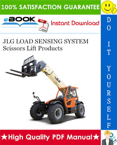 Thumbnail ☆☆ Best ☆☆ JLG LOAD SENSING SYSTEM Scissors Lift Products Operation & Safety, Service & Maintenance, & Illustrated Parts Manual Supplement (P/N: 3124288)