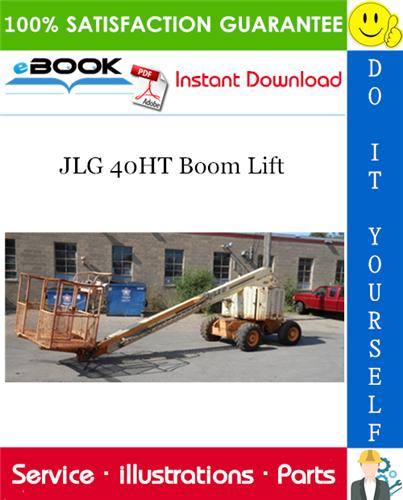 Thumbnail ☆☆ Best ☆☆ JLG 40HT Boom Lift Illustrated Parts Manual (P/N - 3120244)
