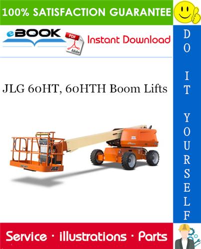 Thumbnail ☆☆ Best ☆☆ JLG 60HT, 60HTH Boom Lifts Illustrated Parts Manual (P/N - 3120258)