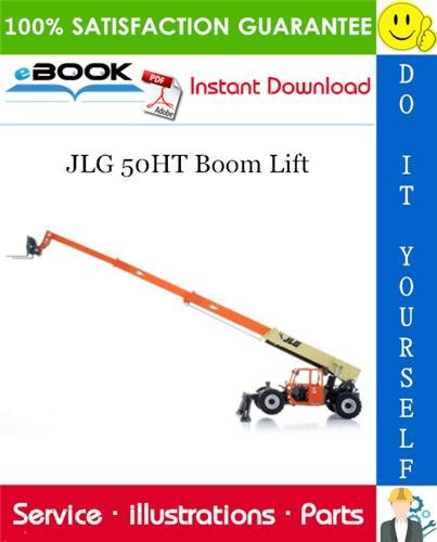 Thumbnail ☆☆ Best ☆☆ JLG 50HT Boom Lift Illustrated Parts Manual