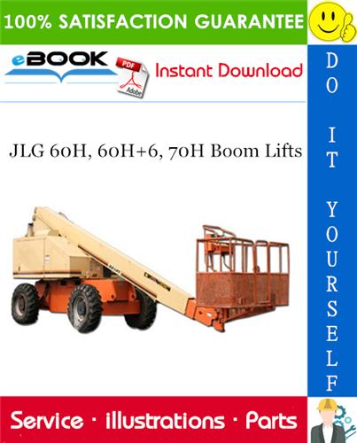 Thumbnail ☆☆ Best ☆☆ JLG 60H, 60H+6, 70H Boom Lifts Illustrated Parts Manual (P/N 3120290)