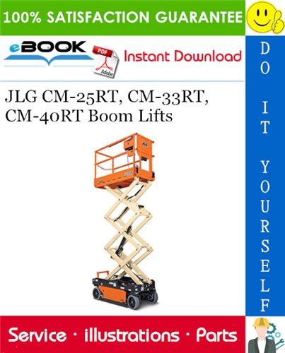 Thumbnail ☆☆ Best ☆☆ JLG CM-25RT, CM-33RT, CM-40RT Boom Lifts Illustrated Parts Manual