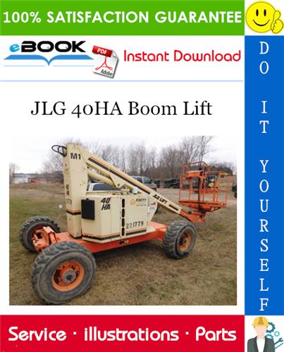 Thumbnail ☆☆ Best ☆☆ JLG 40HA Boom Lift Illustrated Parts Manual (P/N 3120673)