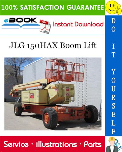 Thumbnail ☆☆ Best ☆☆ JLG 150HAX Boom Lift Illustrated Parts Manual (P/N 3120680)