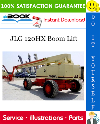 Thumbnail ☆☆ Best ☆☆ JLG 120HX Boom Lift Illustrated Parts Manual (P/N 3120687)