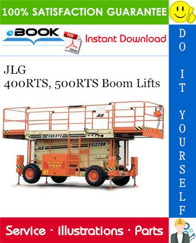 Thumbnail ☆☆ Best ☆☆ JLG 400RTS, 500RTS Boom Lifts Illustrated Parts Manual (P/N 3120697)