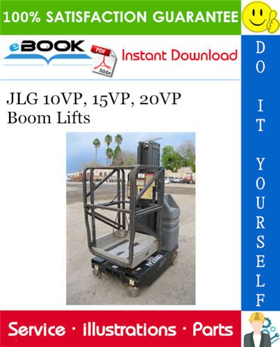 Thumbnail ☆☆ Best ☆☆ JLG 10VP, 15VP, 20VP Boom Lifts Illustrated Parts Manual (P/N 3120729)