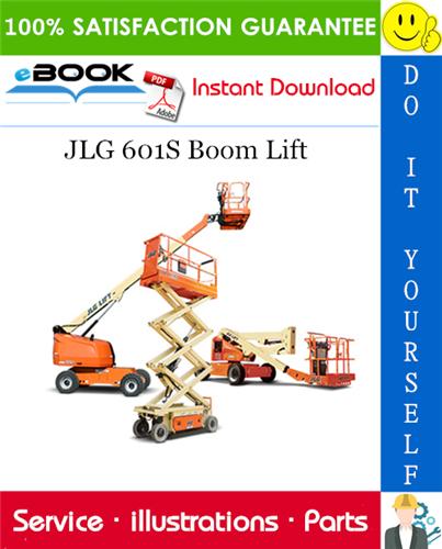 Thumbnail ☆☆ Best ☆☆ JLG 601S Boom Lift Illustrated Parts Manual (P/N 3120747)
