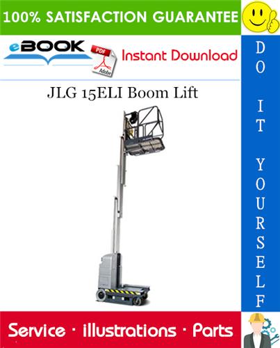 Thumbnail ☆☆ Best ☆☆ JLG 15ELI Boom Lift Illustrated Parts Manual (P/N 3120780)