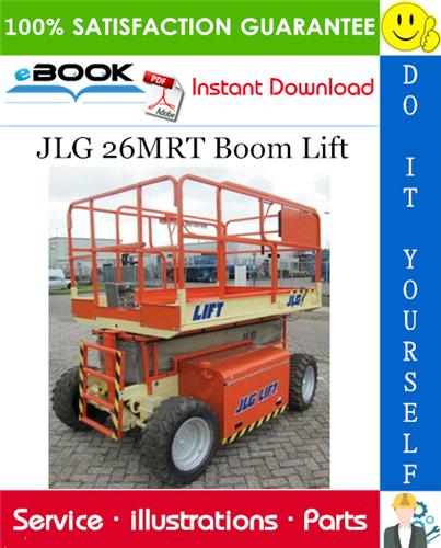 Thumbnail ☆☆ Best ☆☆ JLG 26MRT Boom Lift Illustrated Parts Manual (P/N 3120792)