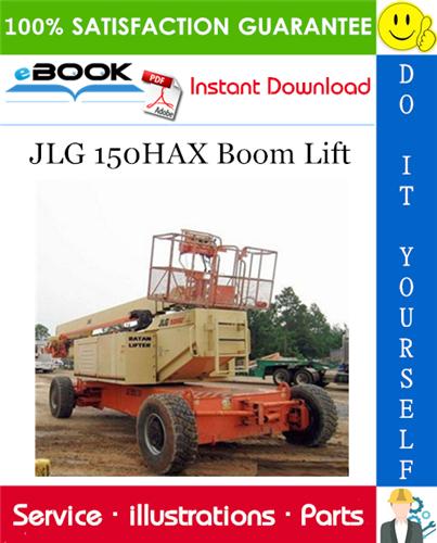 Thumbnail ☆☆ Best ☆☆ JLG 150HAX Boom Lift Illustrated Parts Manual (P/N 3120812)