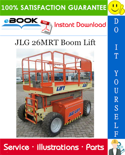 Thumbnail ☆☆ Best ☆☆ JLG 26MRT Boom Lift Illustrated Parts Manual (P/N 3120893)