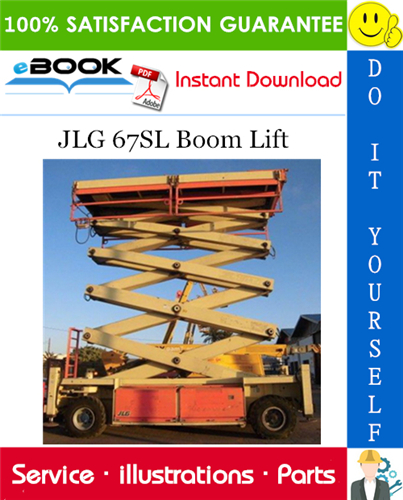 Thumbnail ☆☆ Best ☆☆ JLG 67SL Boom Lift Illustrated Parts Manual (P/N 3121323)