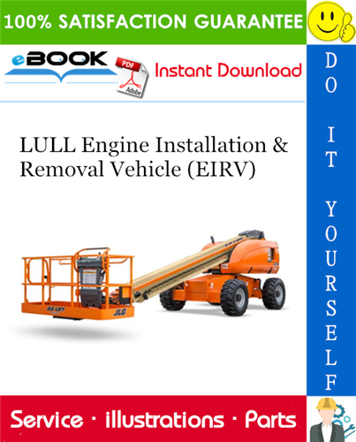 Thumbnail ☆☆ Best ☆☆ LULL Engine Installation & Removal Vehicle (EIRV) Illustrated Parts Manual (P/N 6642123)