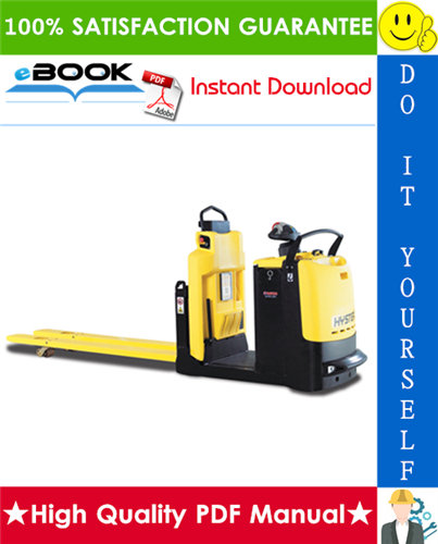 Thumbnail ☆☆ Best ☆☆ Hyster LO2.0, LO2.0L (D444) Low Level Order Pickers Service Repair Manual