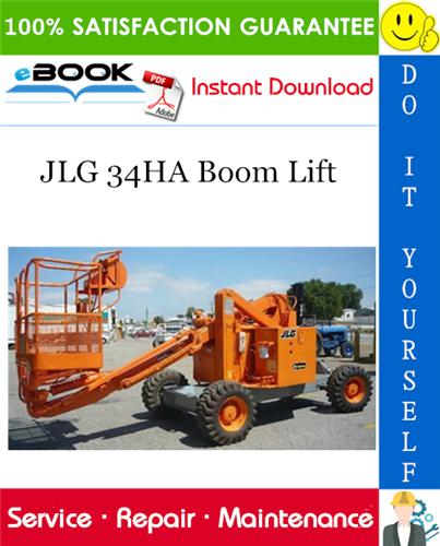 Thumbnail ☆☆ Best ☆☆ JLG 34HA Boom Lift Service Repair Manual (P/N - 3120675)