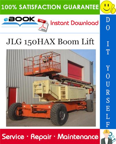 Thumbnail ☆☆ Best ☆☆ JLG 150HAX Boom Lift Service Repair Manual (P/N - 3120679)