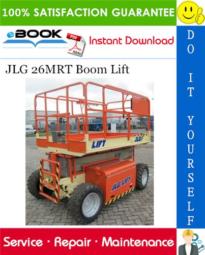 Thumbnail ☆☆ Best ☆☆ JLG 26MRT Boom Lift Service Repair Manual (P/N - 3120791)