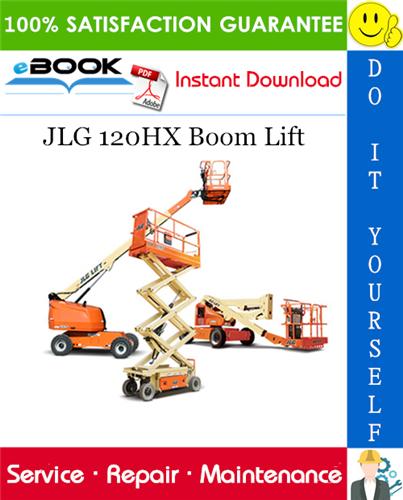 Thumbnail ☆☆ Best ☆☆ JLG 120HX Boom Lift Service Repair Manual (P/N - 3120819)