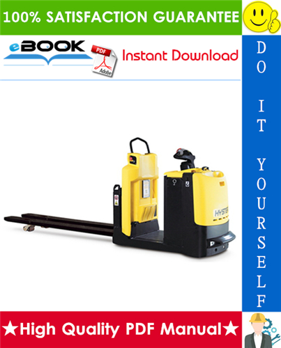 Thumbnail ☆☆ Best ☆☆ Hyster LO1.0F, LO2.0, LO2.0L, LO2.5, LO5.0T (E444) Low Level Order Pickers Service Repair Manual