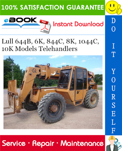 Thumbnail ☆☆ Best ☆☆ Lull 644B, 6K, 844C, 8K, 1044C, 10K Models Telehandlers Service Repair Manual