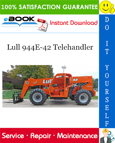 Thumbnail ☆☆ Best ☆☆ Lull 944E-42 Telehandler Service Repair Manual (P/N - 31200355)