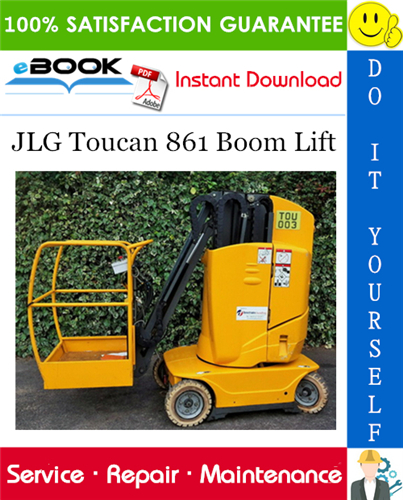Thumbnail ☆☆ Best ☆☆ JLG Toucan 861 Boom Lift Service Repair Manual