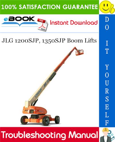 Thumbnail ☆☆ Best ☆☆ JLG 1200SJP, 1350SJP Boom Lifts Troubleshooting Manual