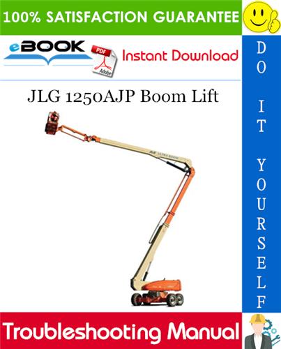 Thumbnail ☆☆ Best ☆☆ JLG 1250AJP Boom Lift Troubleshooting Manual