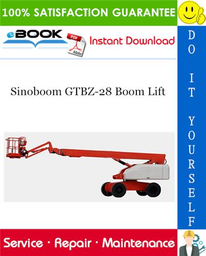 Thumbnail ☆☆ Best ☆☆ Sinoboom GTBZ-28 Boom Lift Service Repair Manual