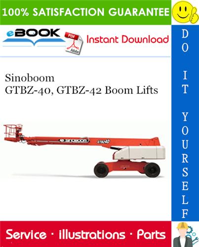 Thumbnail ☆☆ Best ☆☆ Sinoboom GTBZ-40, GTBZ-42 Boom Lifts Parts Manual