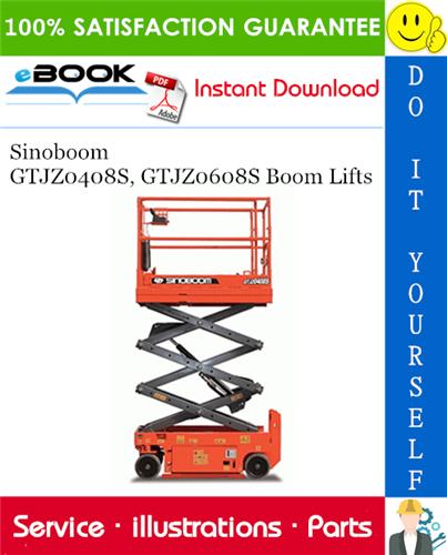 Thumbnail ☆☆ Best ☆☆ Sinoboom GTJZ0408S, GTJZ0608S Boom Lifts Parts Manual