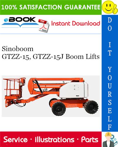 Thumbnail ☆☆ Best ☆☆ Sinoboom GTZZ-15, GTZZ-15J Boom Lifts Parts Manual