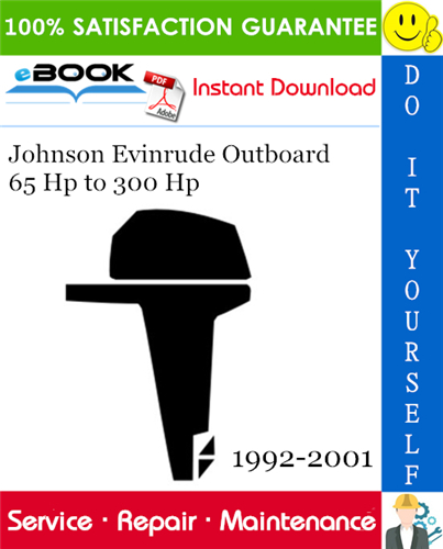 Thumbnail ☆☆ Best ☆☆ Johnson Evinrude Outboard 65 Hp to 300 Hp Service Repair Manual 1992-2001 Download