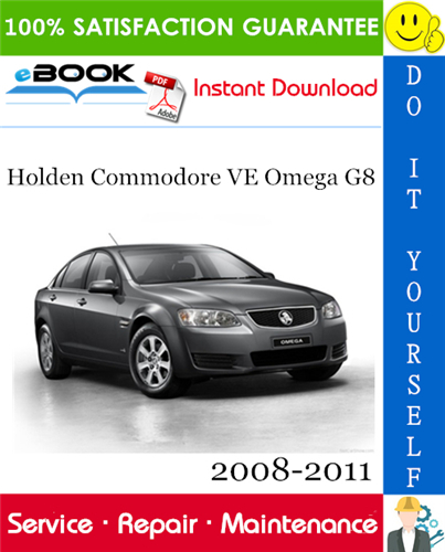 Thumbnail ☆☆ Best ☆☆ Holden Commodore VE Omega G8 Service Repair Manual 2008-2011 Download