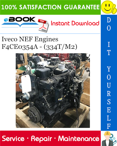Thumbnail ☆☆ Best ☆☆ Iveco NEF Engines F4CE0354A - (334T/M2) Service Repair Manual
