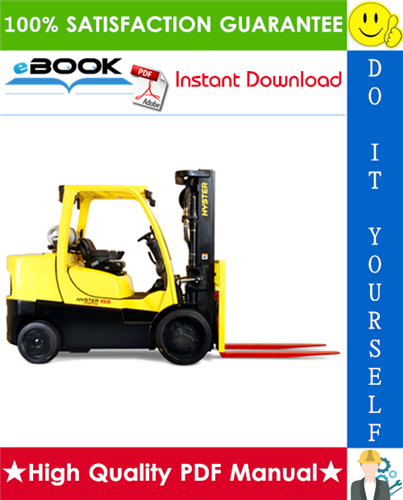 Thumbnail ☆☆ Best ☆☆ Hyster FORTIS S135FT, S155FT (D024) Compact Internal Combustion Forklift Service Repair Manual