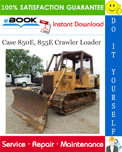 Thumbnail ☆☆ Best ☆☆ Case 850E, 855E Crawler Loader Service Repair Manual