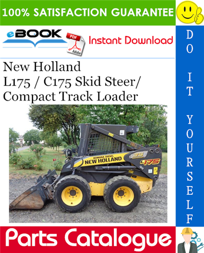 Thumbnail ☆☆ Best ☆☆ New Holland L175 / C175 Skid Steer/Compact Track Loader Service Parts Catalogue