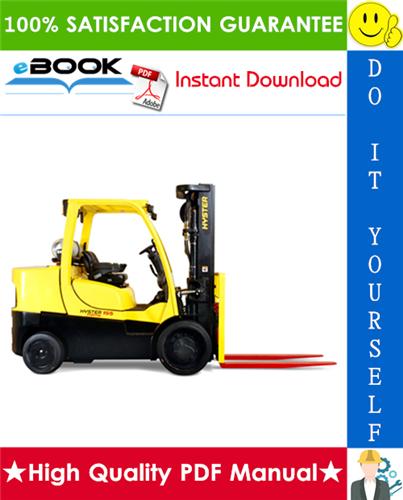 Thumbnail ☆☆ Best ☆☆ Hyster S135FT, S155FT (E024) Forklift Trucks Service Repair Manual
