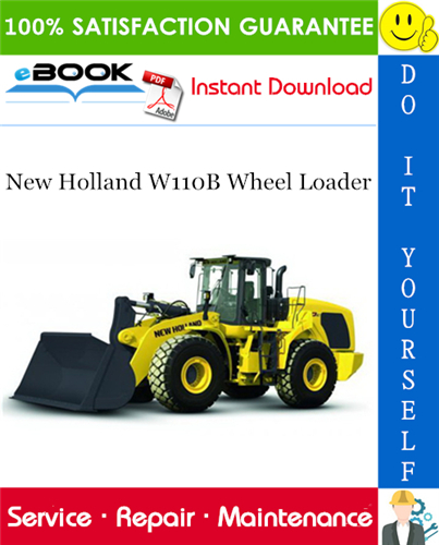 Thumbnail ☆☆ Best ☆☆ New Holland W110B Wheel Loader Service Repair Manual