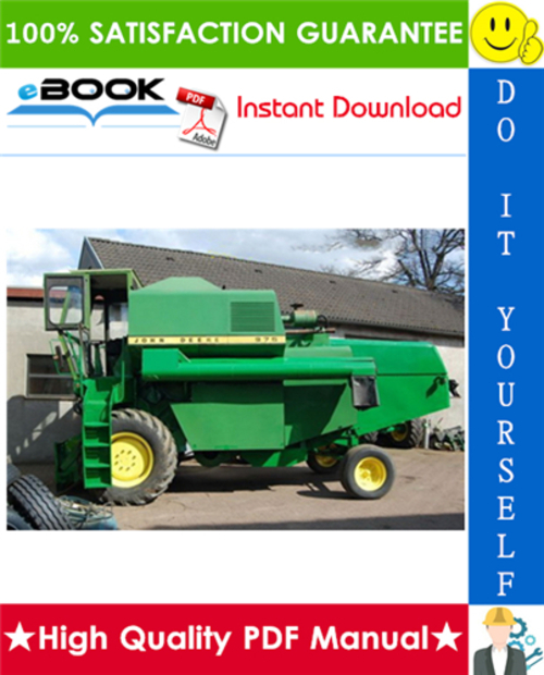 Pay for ☆☆ Best ☆☆ John Deere 925, 935, 945, 955, 965, 975 Combines Technical Manual