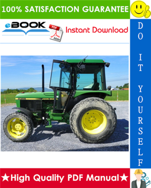 Pay for ☆☆ Best ☆☆ John Deere 2155, 2355N, 2355, 2555, 2755, 2855N, 2955, 3155 Tractors Technical Manual + Operation and Tests
