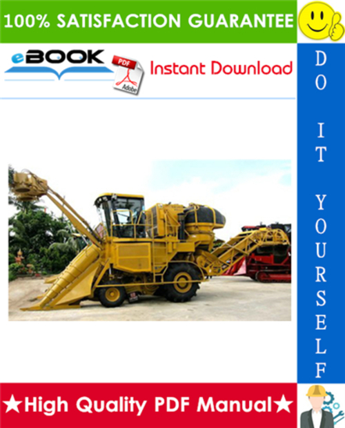 Pay for ☆☆ Best ☆☆ Cameco CH3500 Harvester Repair, Operation and Tests Technical Manual