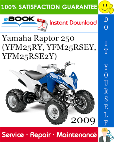 Best  U2606 U2606 2009 Yamaha Raptor 250  Yfm25ry  Yfm25rsey